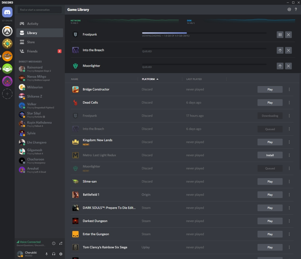 Discord adds games to its Nitro subscription service and opens a