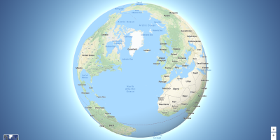Google Maps is now a globe    just zoom out | VentureBeat