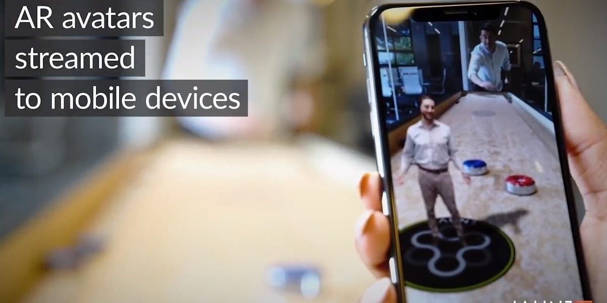 Jaunt's AR avatars can be streamed to mobile devices.