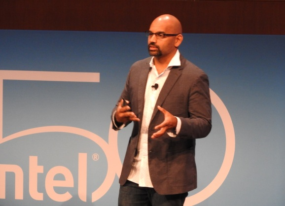 Intel corporate vice president Naveen Rao.
