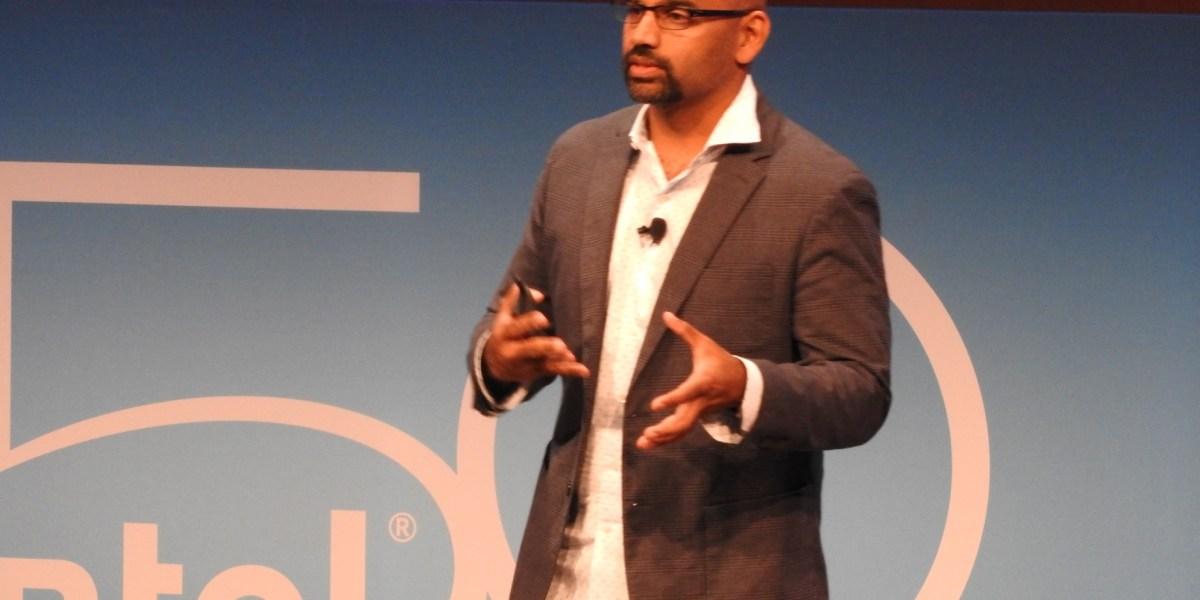 Intel corporate vice president Naveen Rao.