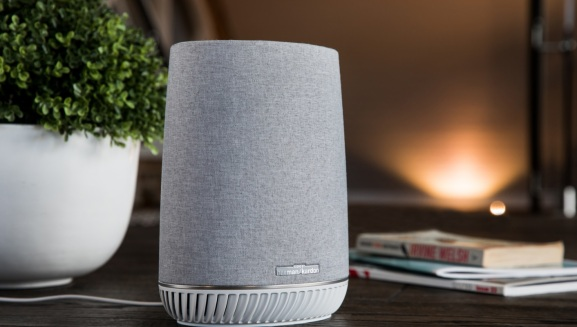 Orbi Voice Smart Speaker is chubby, but it has 3 products in 1.