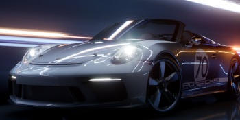 Porsche concept car shows off real-time ray tracing in Unreal Engine