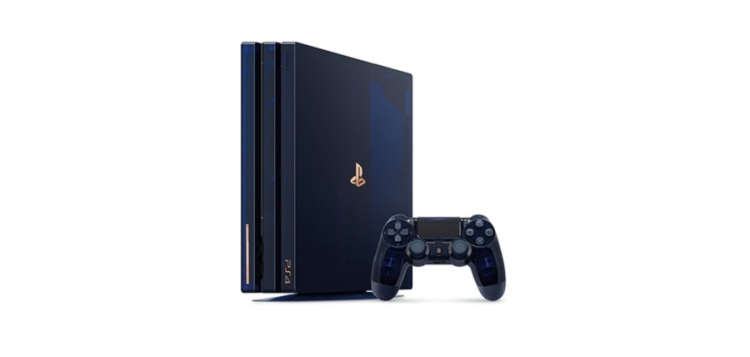 PlayStation 4 Pro limited edition.