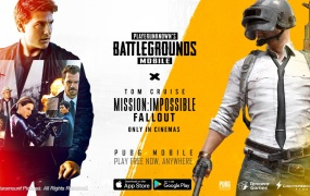 PUBG is teaming up with Mission Impossible: Fallout.