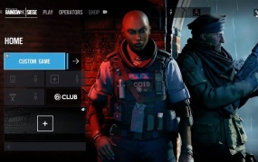 The new Grim Sky operators in Rainbow Six Siege are Clash (left) and Maverick.