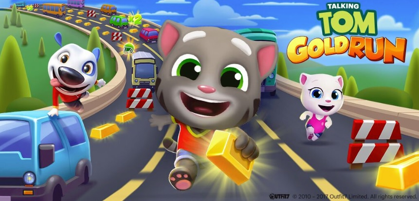 Talking Tom Gold Run is branching out