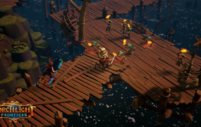 Torchlight Frontiers in action.