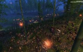 Night combat in Total War: Three Kingdoms.