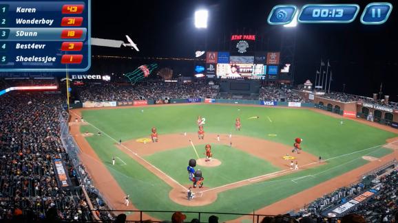 Virtex Arena Baseball at AT&T Park in San Francisco