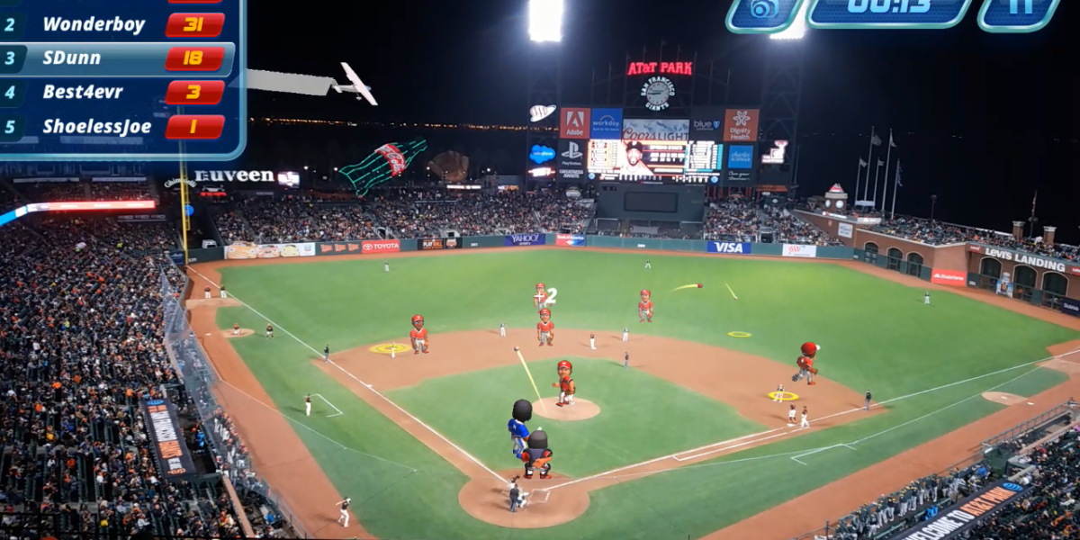 Virtex Arena Baseball at AT&T Park in San Francisco
