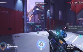 Visor tells you in real-time what you need to do in an Overwatch match.