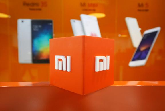 The logo of Xiaomi is seen inside the company's office in Bengaluru, India, January 18, 2018.