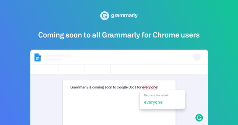 Grammarly Google Docs