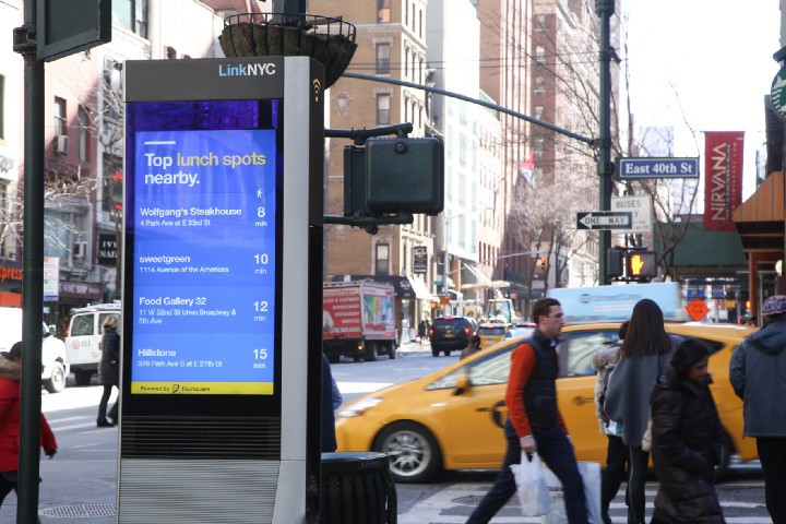 LinkNYC's 5 million users make 500,000 phone calls each month