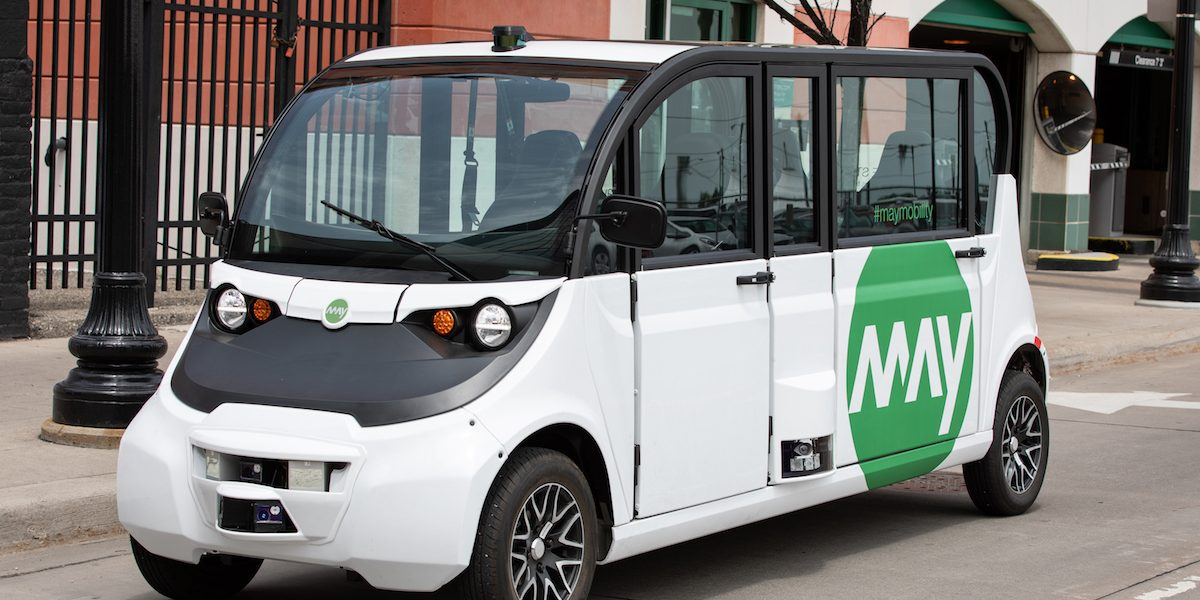 Via partners with troubled May Mobility for autonomous shuttle pilot in Arlington