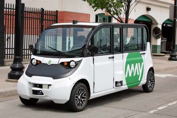 Michigan startup May Mobility to deploy self-driving shuttles in Columbus, Ohio
