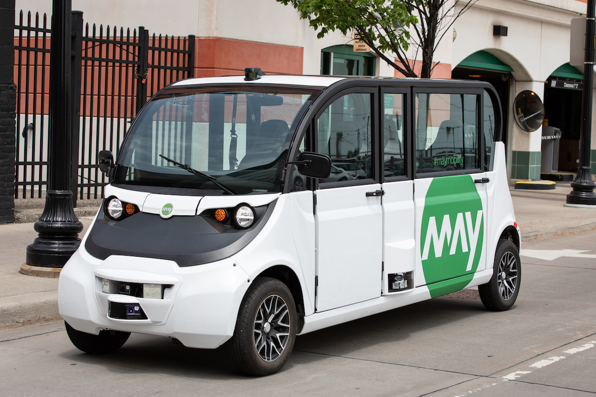 May Mobility raises $22 million to deploy autonomous shuttles in cities across the U.S.
