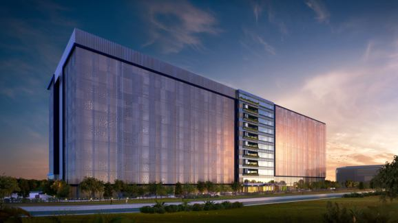 Facebook's Singapore data center: Artist's rendering