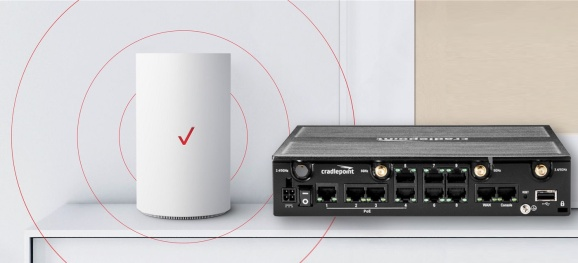 photo image Verizon and Cradlepoint announce enterprise 5G broadband service