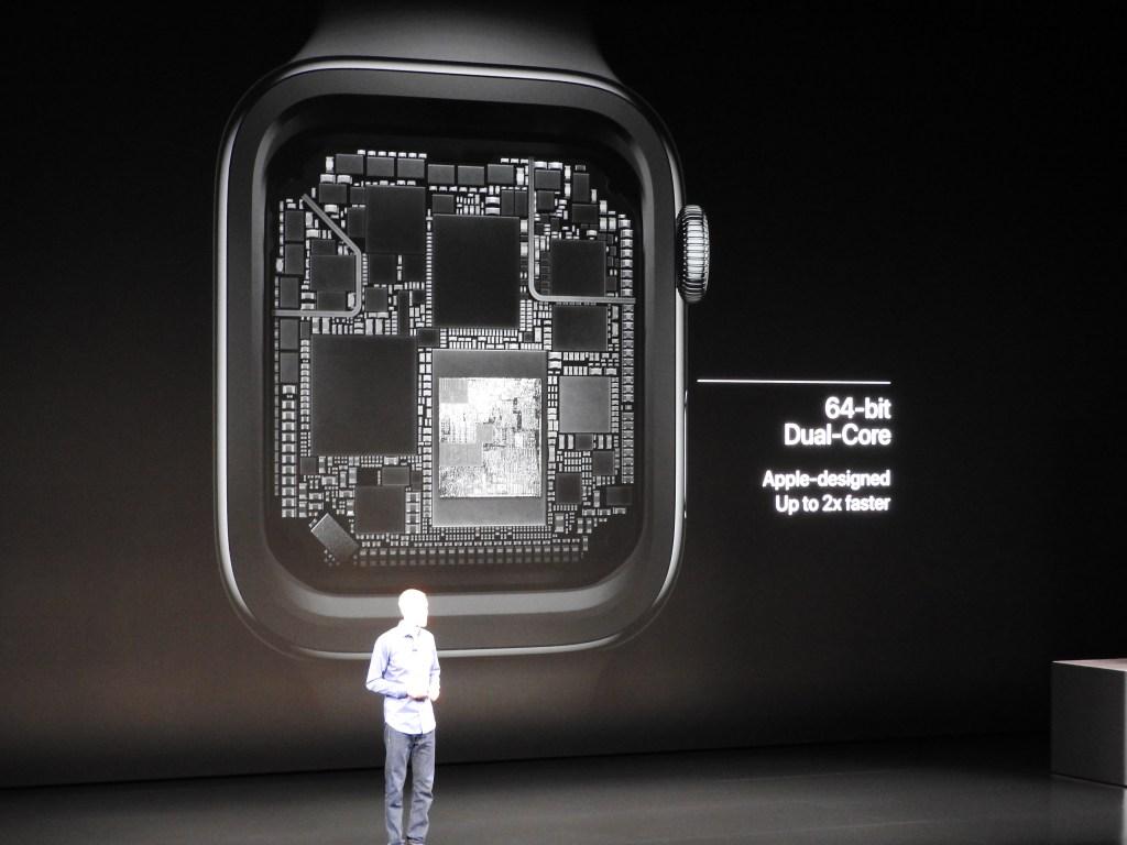 New Apple Watch Series 4 processor.