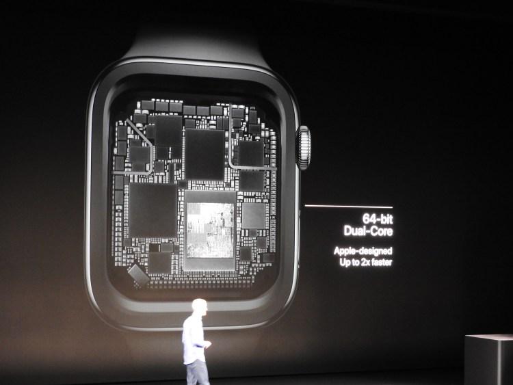 Apple Watch Series 4 chip.