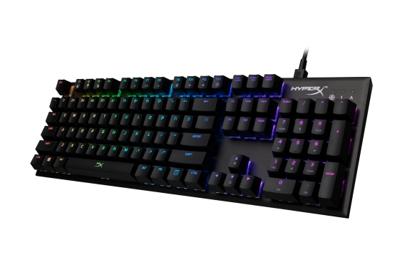 The HyperX Alloy FPS RGB is the latest revision of the company's excellent Alloy FPS keyboard line.