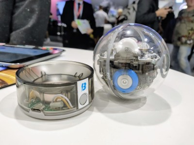 Sphero launches Sphero Bolt, a light-up robot ball for