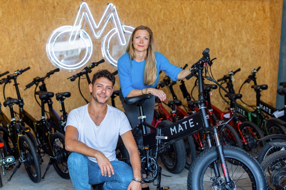 Mate X raises $10 million for its foldable electric bike