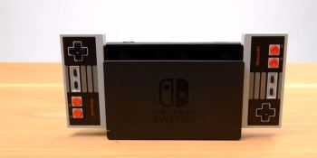 NES-style controller launching for Nintendo Switch