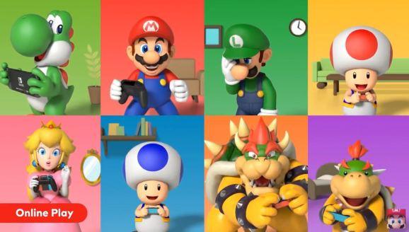 Nintendo Direct on Nintendo Switch Online.