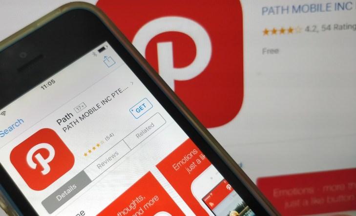 Path mobile app