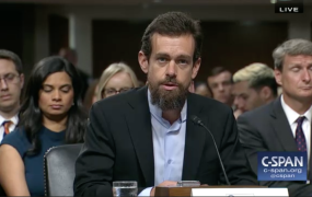 Twitter CEO Jack Dorsey testifies in front of the Senate Intelligence Committee