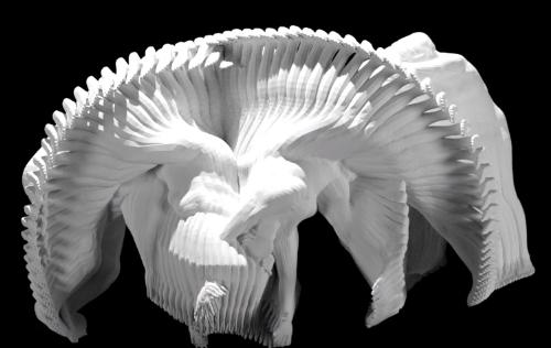 MIT CSAIL Motion Sculpture