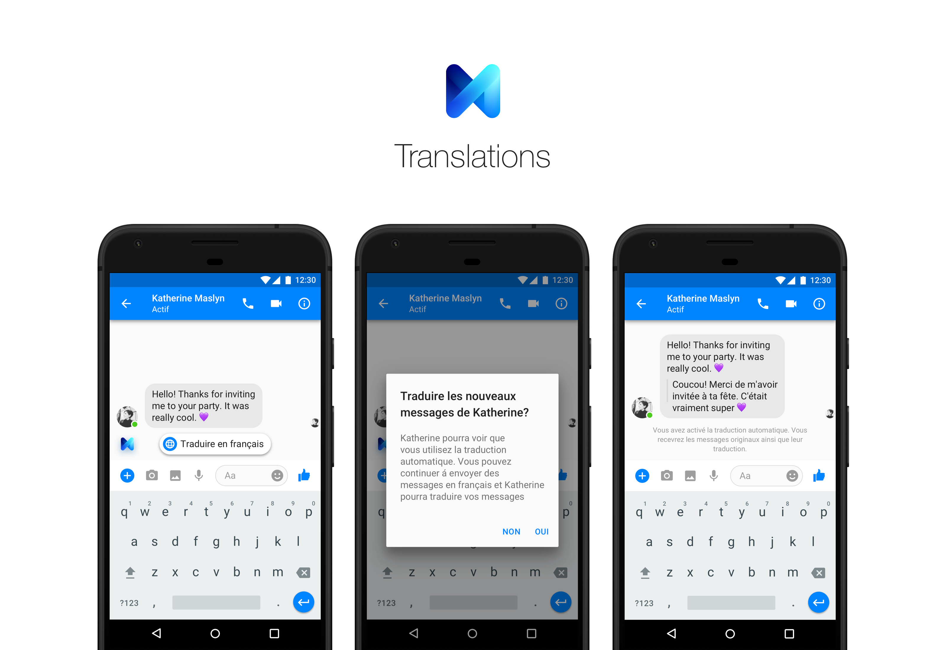 Facebook Messenger assistant M can now translate French | VentureBeat