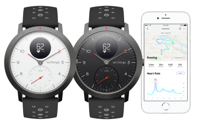 Withings Unveils 200 Steel HR Sport Smartwatch Its First Device