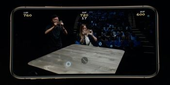 Apple shows off fast-action Galaga AR multiplayer game