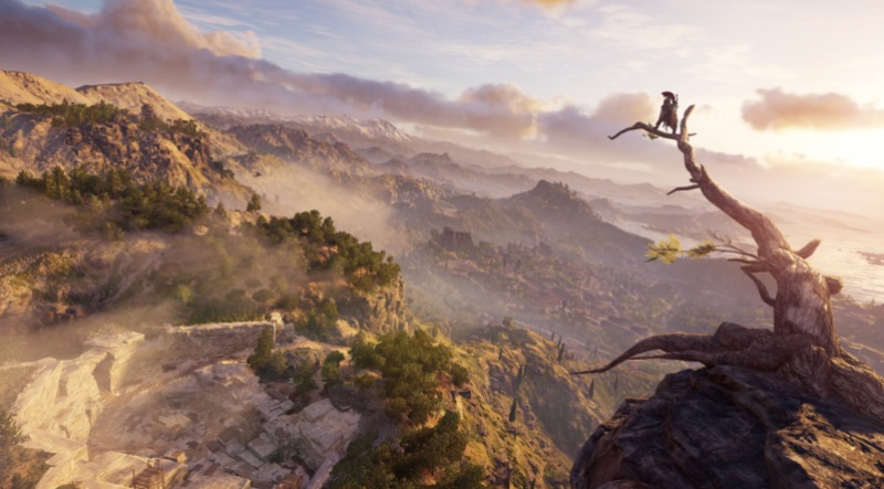 Assassin's Creed: Odyssey is a big world.