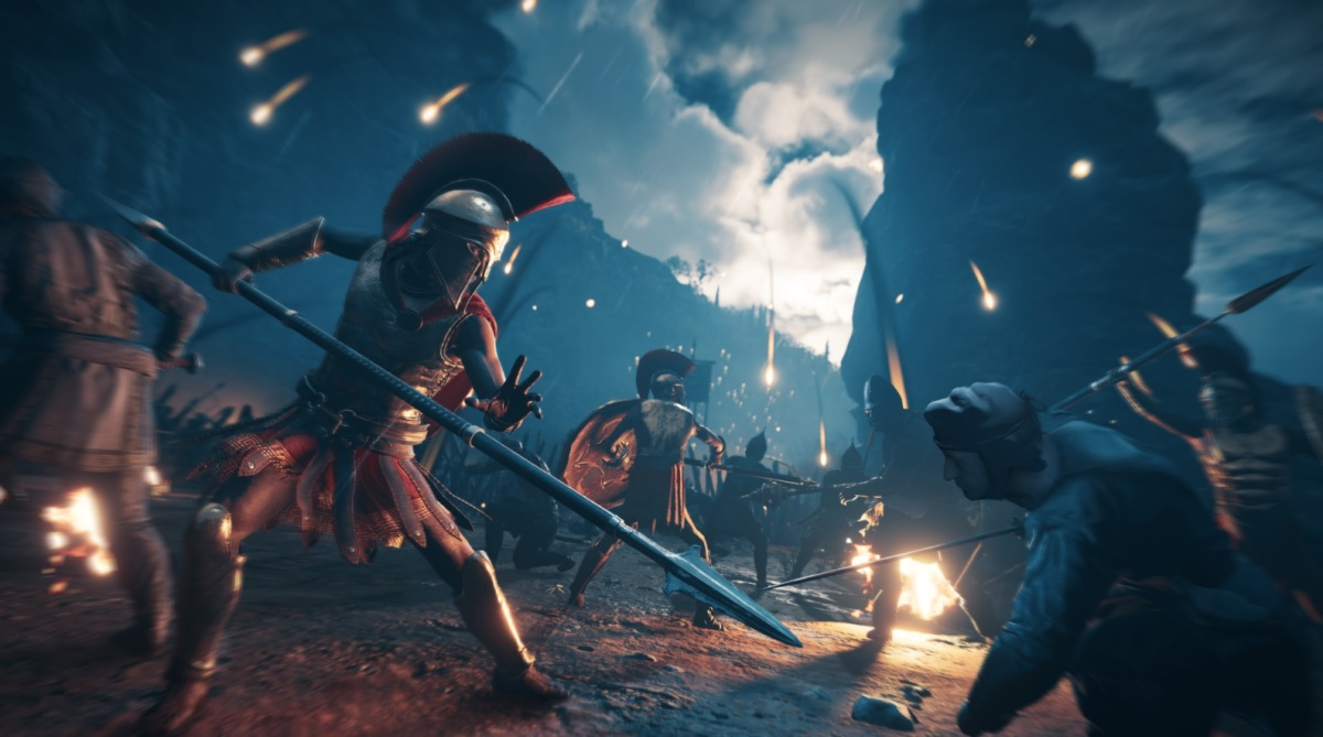 Assassin S Creed Odyssey And Rainbow Six Siege Help Ubisoft Beat