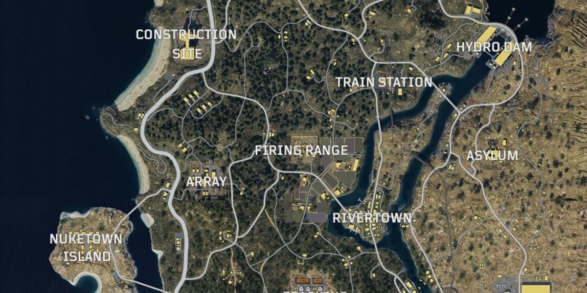 Call of Duty: Black Ops 4's Blackout map.