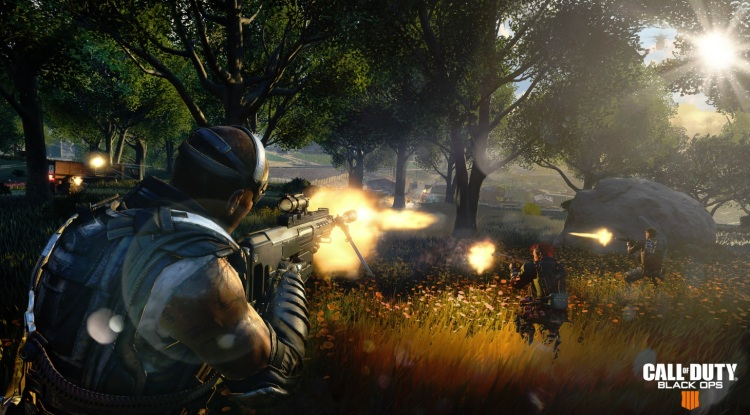 Call of Duty: Black Ops 4's Blackout battle royale map.
