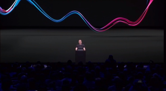 That's John Carmack on the Oculus Connect 5 stage.