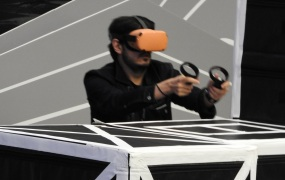 Dead & Buried with the Oculus Quest in a very big arena.