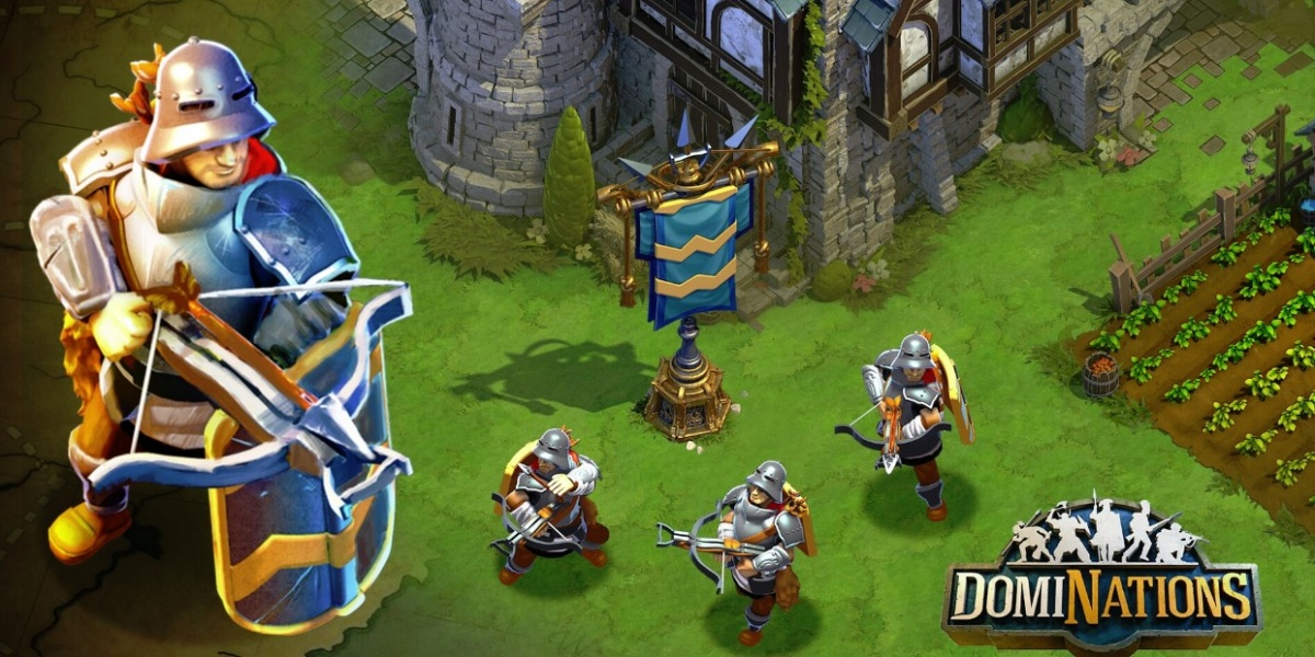 History Channel weapons will come to the mobile game DomiNations.