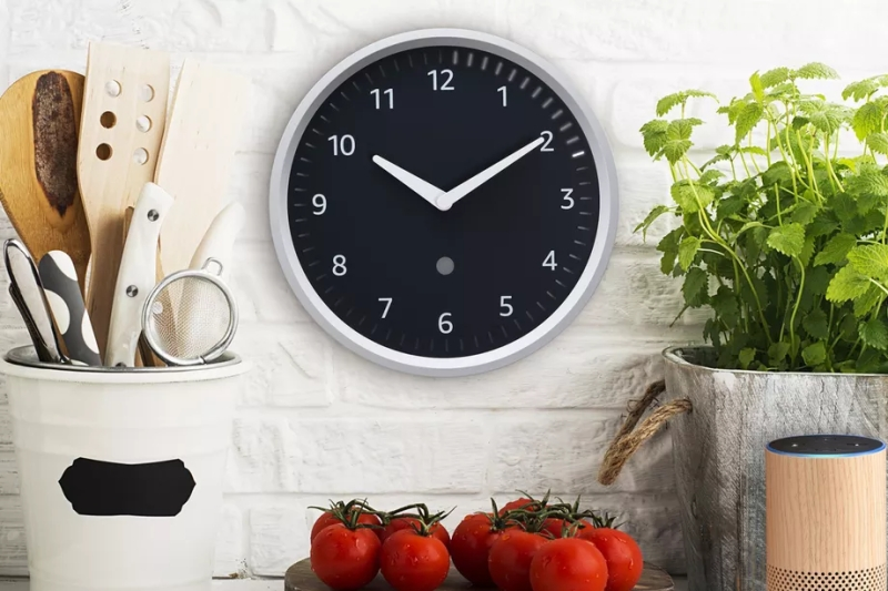 Amazon Echo Wall Clock.