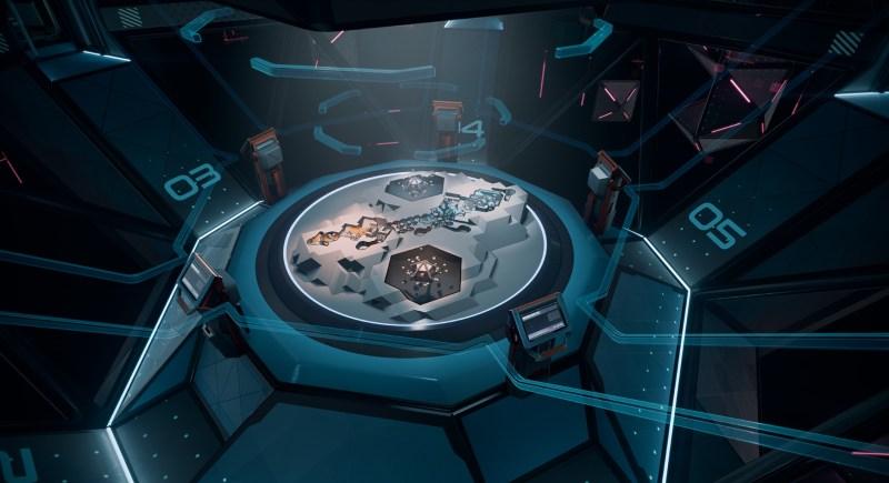 Echo Combat's map