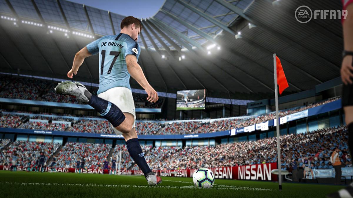 FIFA 19 Nintendo Switch graphics comparison to FIFA 18