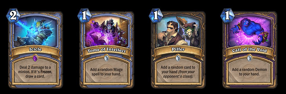 The new Classic cards.