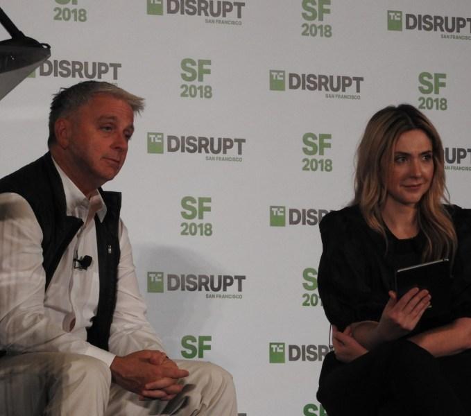 John Riccitiello of Unity and Alexia Bonatsos of Dream Ventures.