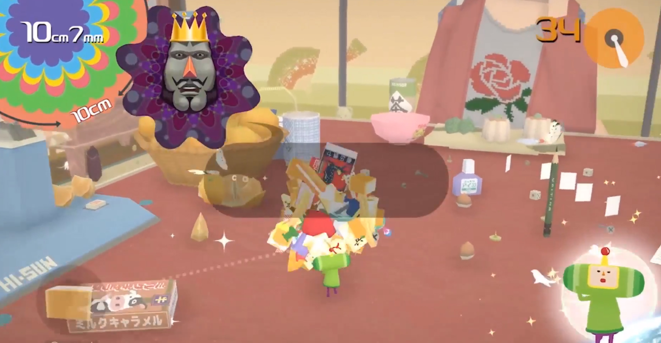 Katamari Damacy Reroll Remasters the Original for Switch